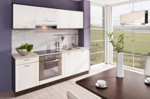 Kuchyňská linka Aneta 210 D (dub tmavý/vanilka)