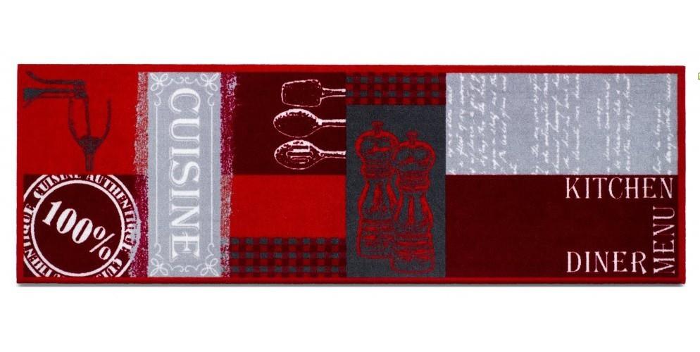 Kuchyňská předložka Cuisine authebtique (červená)