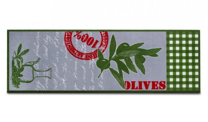 Kuchyňská předložka Olives (šedá)