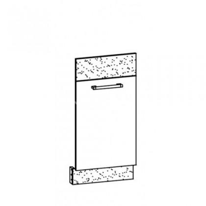 Kuchyňská skříň Marina MD23 (tafla rijeka světlá/rijeka tmavá)