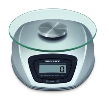 Kuchyňská váha Siena (stříbrná)