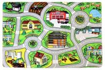 Kusový koberec Silnice 21 (140x200 cm)