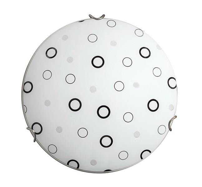 Lady - Nástěnná svítidla, E27 (bílá/černá )