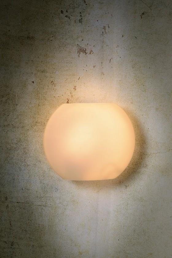 Lagan - nástěnné osvětlení, 60W, E27 (bílá)