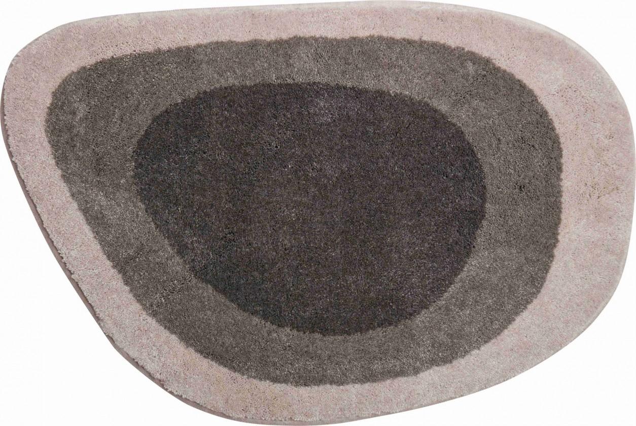 Lake - Koupelnová předložka 60x90 cm (tmavě šedá)