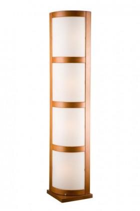 Lampa stojací-LP-3.21(chrom, hnědá)
