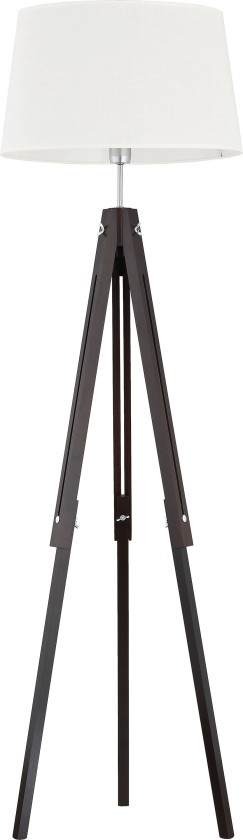 Lampy Lampa Lorenzo wood (černá, 157 cm)