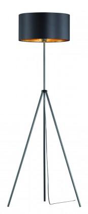 Lampy Stojací lampa Respi, 3-nožka, nožní vypínač, patice E27