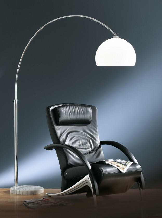 Lampy Stojací lampa Sample, nastavitelná výška 180-210 cm