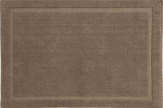 Lao - Koupelnová předložka 60x90 cm (mléčná káva)