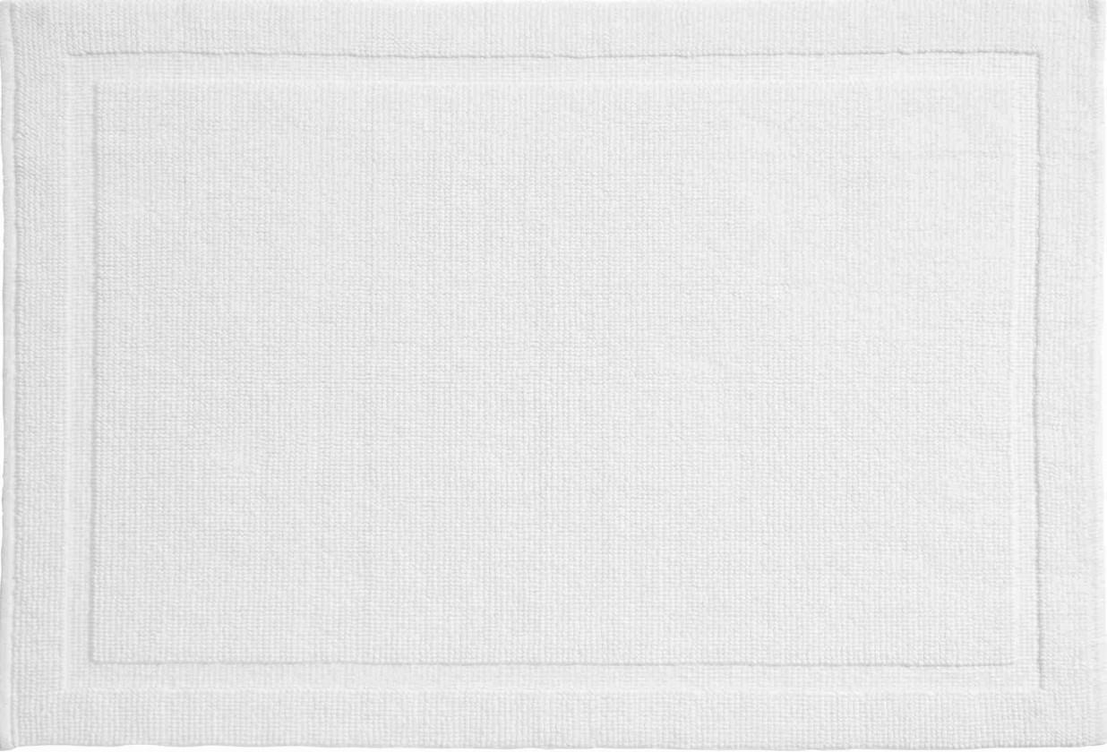 Lao - Koupelnová předložka 60x90 cm (sněhobílá)