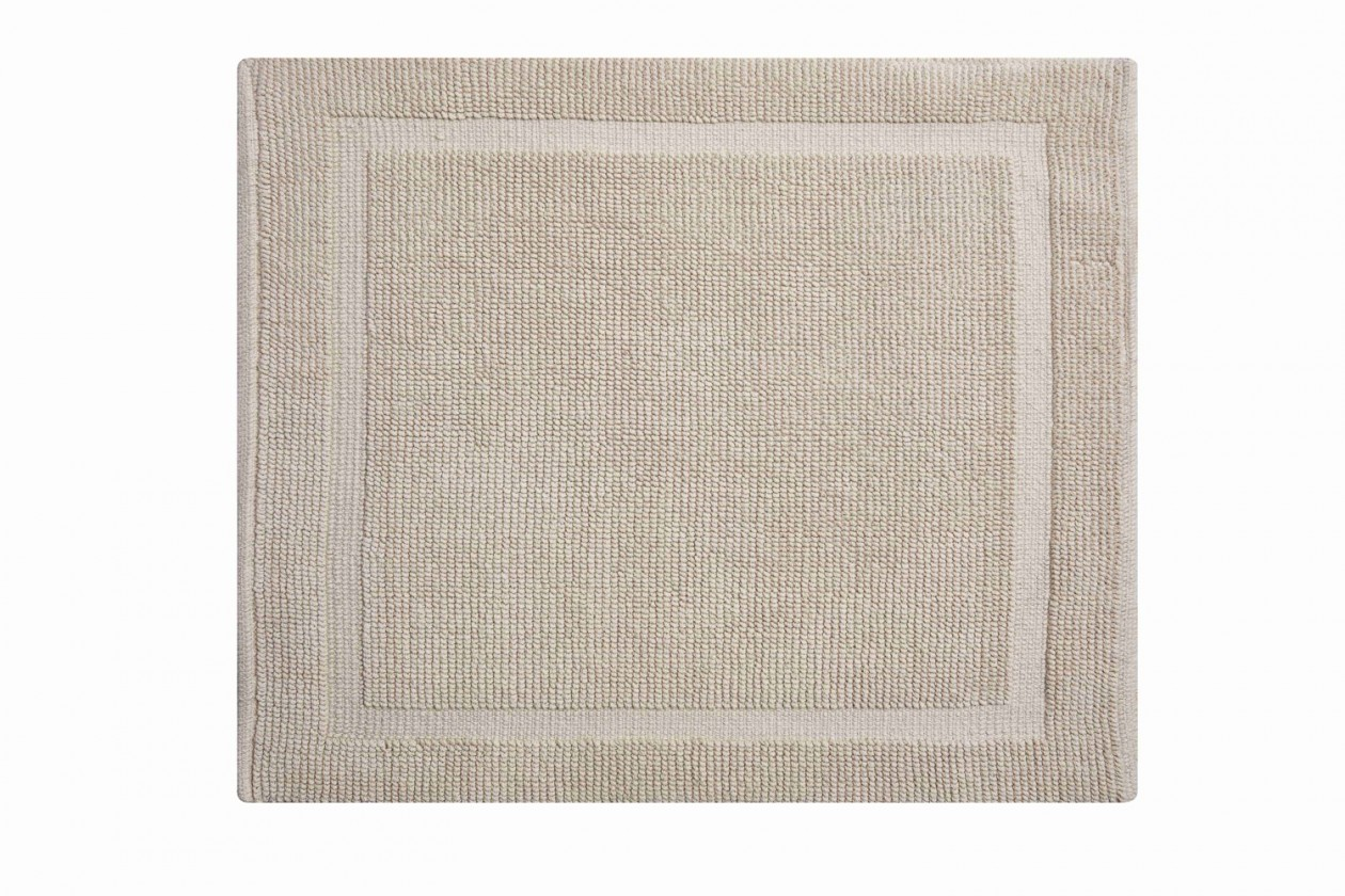 Lao - Koupelnová předložka malá 50x60 cm (písková)