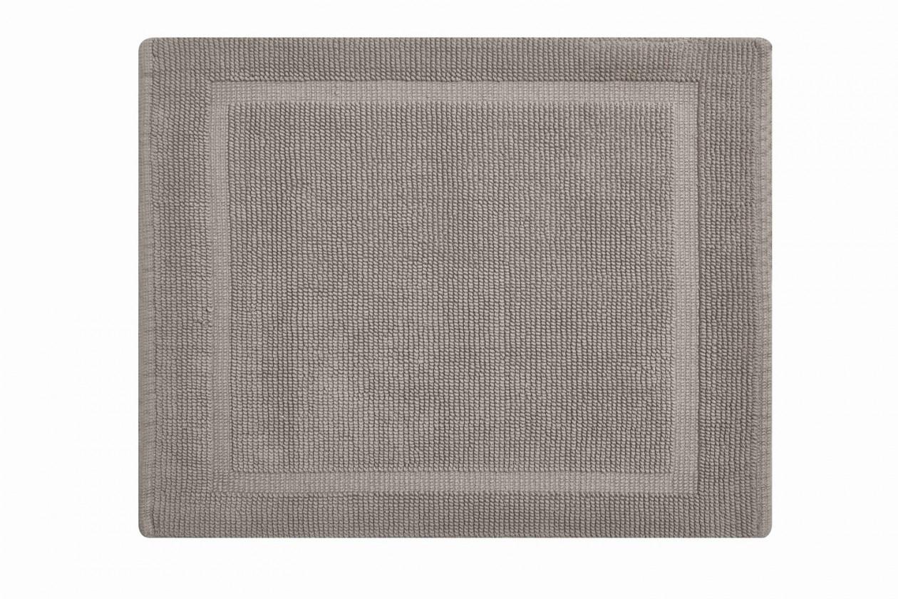 Lao - Koupelnová předložka malá 50x60 cm (šedobéžová)