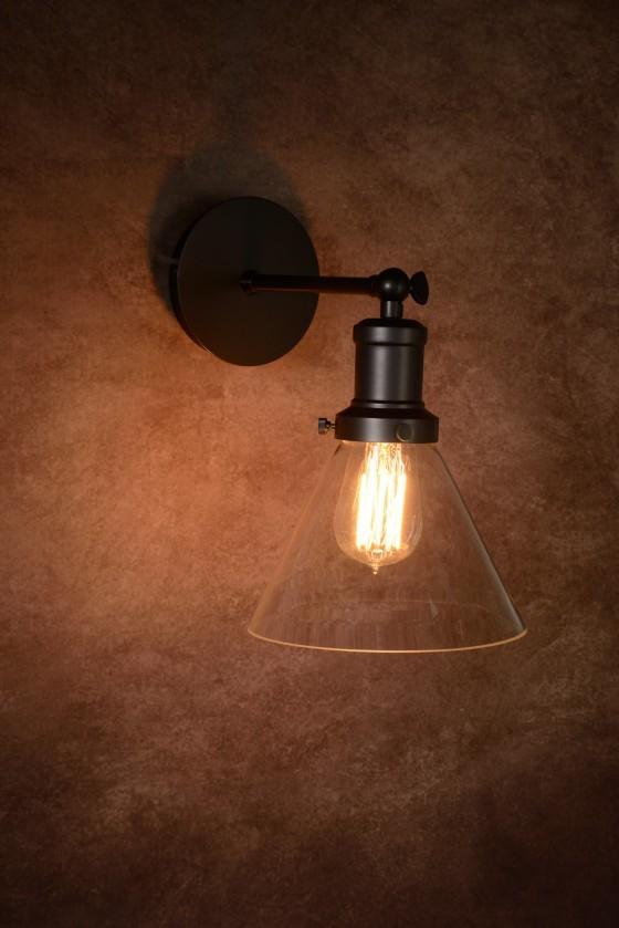 Laren - nástěnné osvětlení, 60W, E27 (bílá)