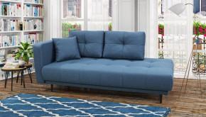 Lenoška Bony s úložným prostorem, levá strana, modrá