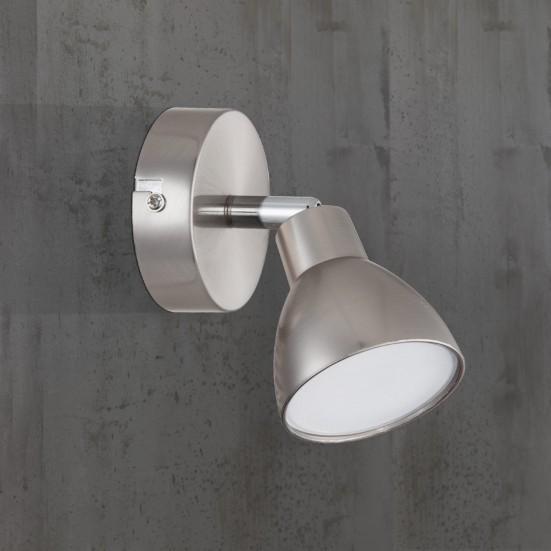 Lester - Nástěnné svítidlo, LED (nikl)