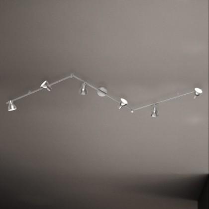 Lester - Stropní osvětlení, LED (nikl)