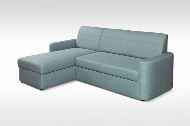 Levné Rohová sedačka rozkládací Primo univerzální roh ÚP, modrá