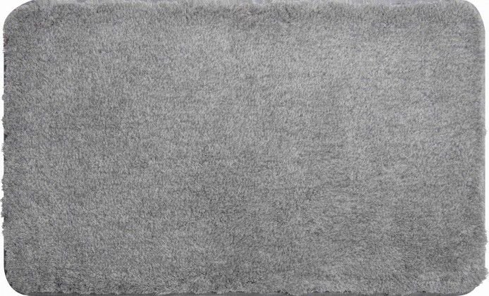 Lex - Koupelnová předložka 70x120 cm (stříbrná)