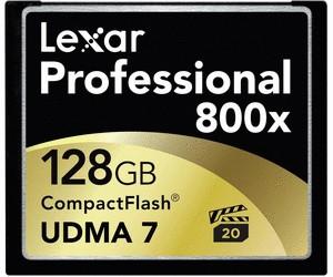 Lexar 128GB CF 800x Professional UDMA