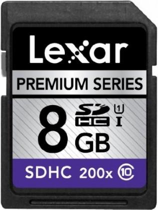 Lexar 8GB SDHC 200x Premium (Class 10)