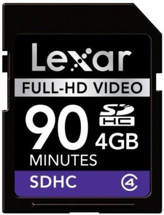 Lexar SDHC 4GB (Class 4)
