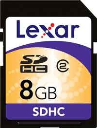 Lexar SDHC Card 8GB