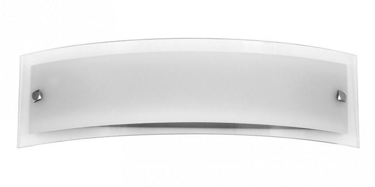 Line - Nástěnná svítidla, E15 (bílá/saténový chrom)