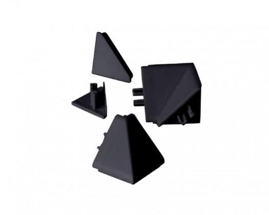 Lišty do kuchyně Zakončení lišty na kuchyňskou linku (černá)