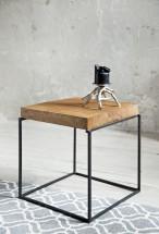 Loft - Konfereční stolek čtverec nízký, 40x40x40 cm