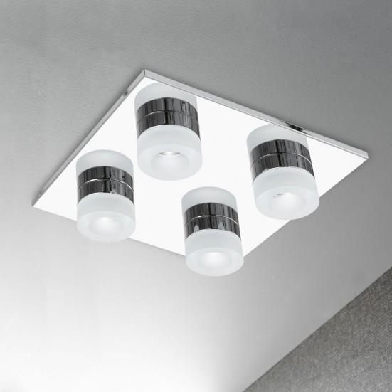 Logan - Stropní osvětlení, LED (chrom)