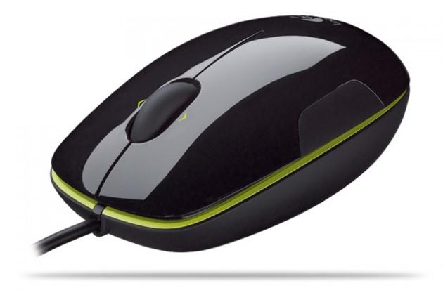 Logitech laserová myš 910-000863 černá, USB
