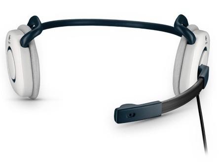 Logitech Stereo Headset H130 Cloud White