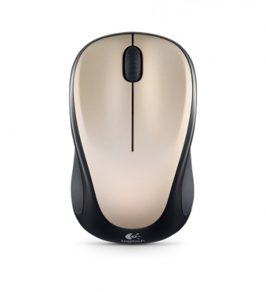 Logitech Wireless Mouse M235 Ivory White