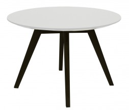 Lola Bess - Konferenční stolek, bílá, černá (9317-024+9366-001)