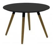 Lola Fido - Konferenční stolek, černá, černá (9315-154+9366-024)