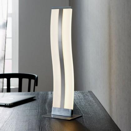 Louvre - Lampička, LED (matný nikl/chrom)