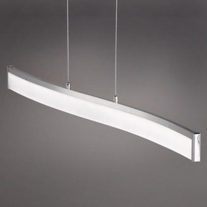 Louvre - Stropní osvětlení, LED (matný nikl/chrom)