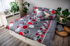 Ložní povlečení Pedro (bílá, červená, šedá)