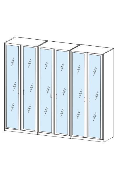 Ložnice ZLEVNĚNO Cassanova (jasan coimbra/zrcadlo)