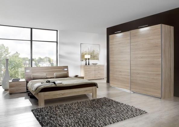 Ložnicový komplet Vicenza - Komplet velký, postel 160 cm (dub)