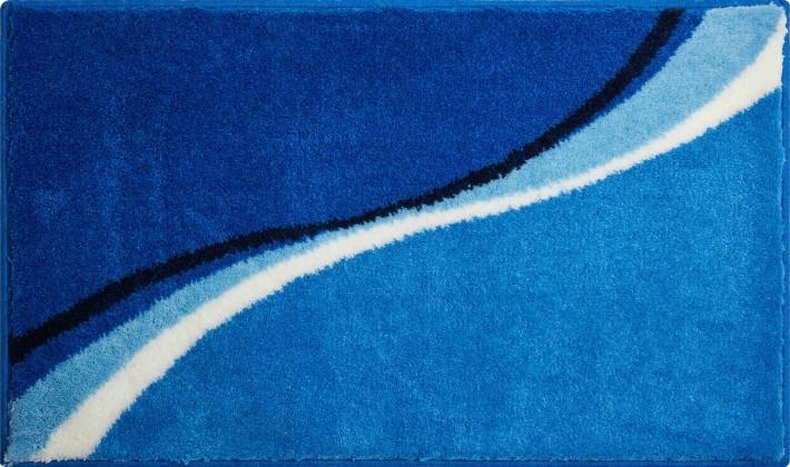 Luca - Koupelnová předložka 60x100 cm (modrá)