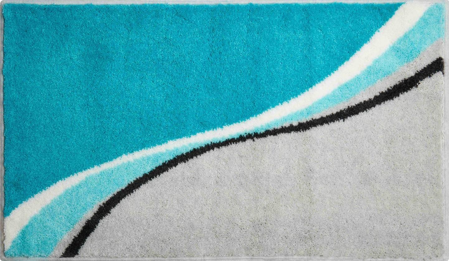 Luca - Koupelnová předložka 70x120 cm (tyrkysová)