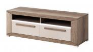 Lumi - TV stolek, 2 zásuvky