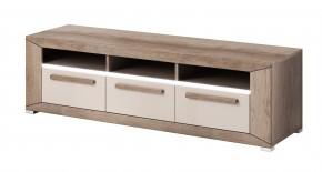 Lumi - TV stolek, 3 zásuvky