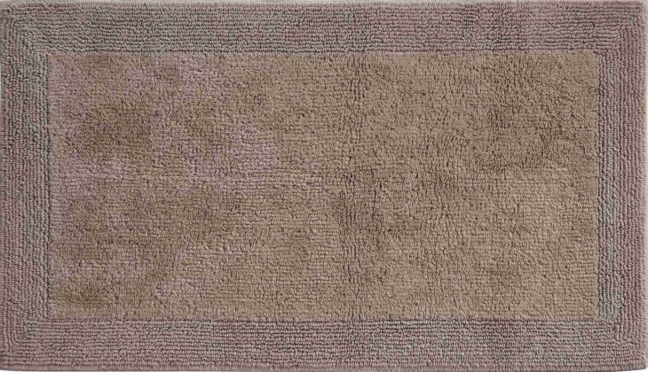 Luxor - Koupelnová předložka 50x80 cm (čoko krémová)