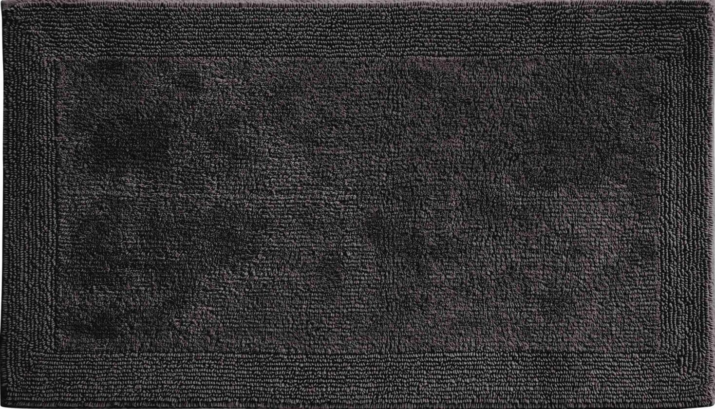 Luxor - Koupelnová předložka 80x150 cm (grafitová)