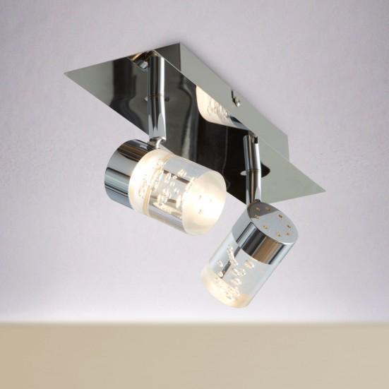 Maar - Stropní osvětlení, LED (chrom)
