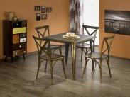 Magnum - Jídelní stůl čtverec 60x60 cm (měděná)
