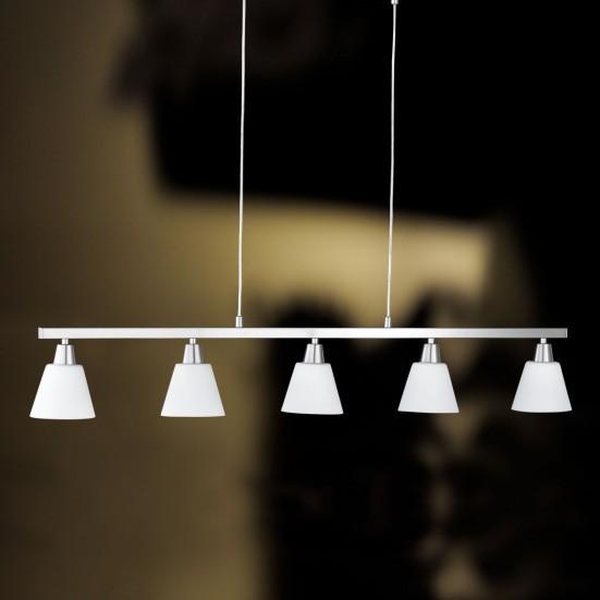 Mali - Stropní osvětlení, E14 (matný nikl)